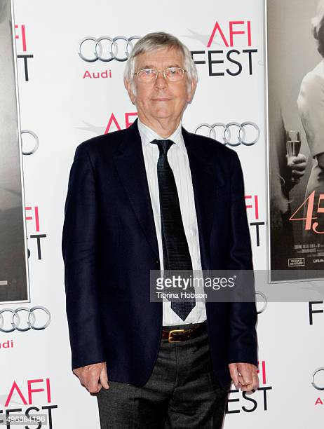 Tom Courtenay attends a tribute to Charlotte Rampling and Tom Courtenay at AFI FEST 2015 presented by Audi at TCL Chinese Theatre on November 11,...