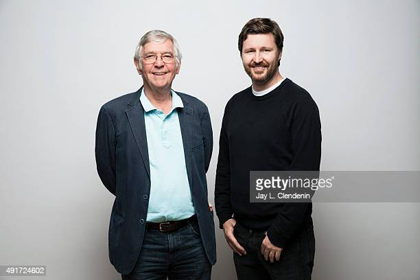 Tom Courtenay left and director Andrew Haigh with the film 45 Years are photographed for Los Angeles Times on September 25 2015 in Toronto Ontario...