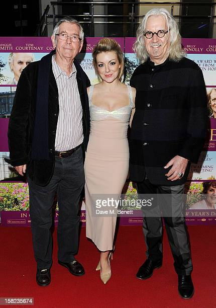 Tom Courtenay, Sheridan Smith and Billy Connolly attend a Gala Screening of 'Quartet' at Odeon West End on December 11, 2012 in London, England.
