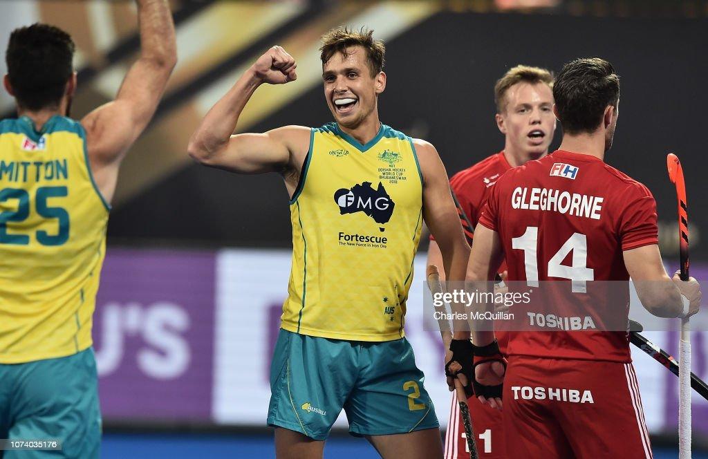 England v Australia - FIH Men's Hockey World Cup: Third Place Play-off : News Photo
