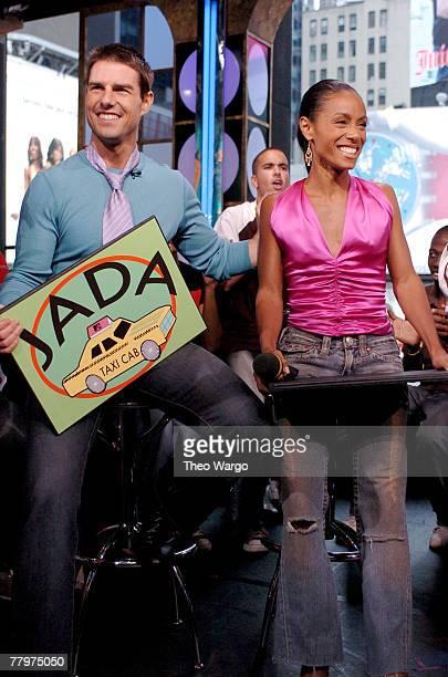 Tom Cruise and Jada Pinkett Smith