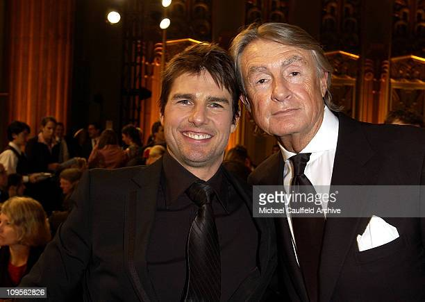 Tom Cruise and Joel Schumacher during 10th Annual Critics' Choice Awards Backstage and Audience at Wiltern LG Theatre in Los Angeles California...