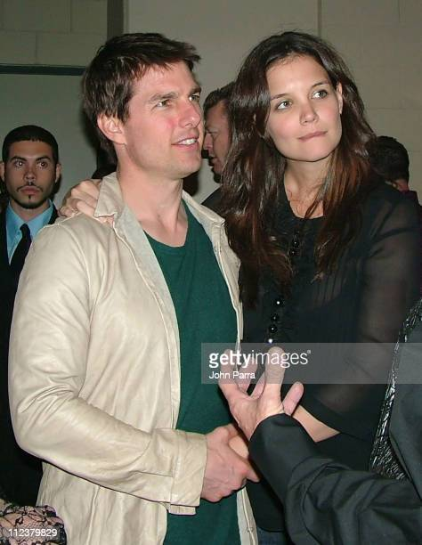 Tom Cruise and Katie Holmes during Tom Cruise and Katie Holmes Sighting in Sunrise Florida December 17 2005 at Bank Atlantic Center in Sunrise...