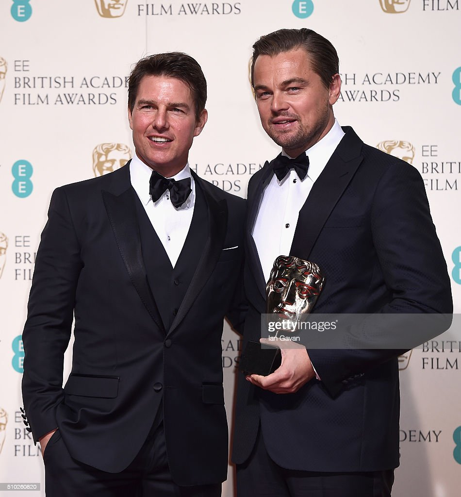 EE British Academy Film Awards - Winners Room : News Photo