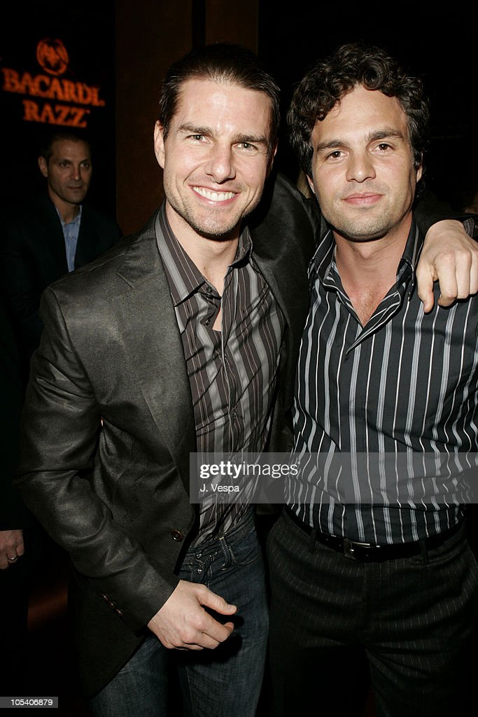 Tom Cruise and Mark Ruffalo during Premiere Magazine's 'The New Power' - Inside at Forbidden City in Hollywood, California, United States.