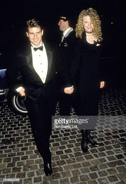 Tom Cruise and Nicole Kidman during 49th Annual Golden Globe Awards at Beverly Hilton Hotel in Beverly Hills California United States