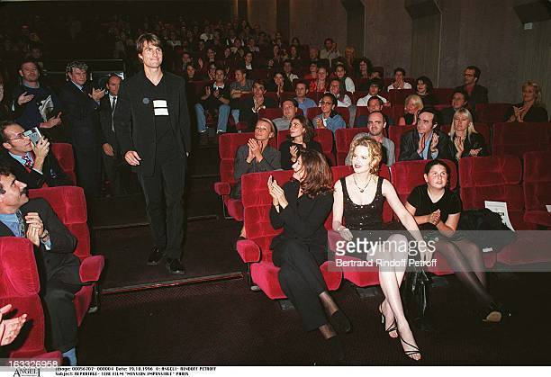 Tom Cruise and Nicole Kidmanat the Paris premiere of 'Mission Impossible'