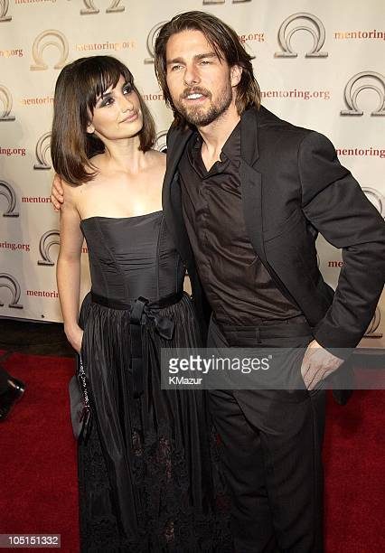 Tom Cruise and Penelope Cruz during MENTOR-National Mentoring Partnership Excellence in Mentoring Awards at Pier 60 Chelsea Piers in New York City,...