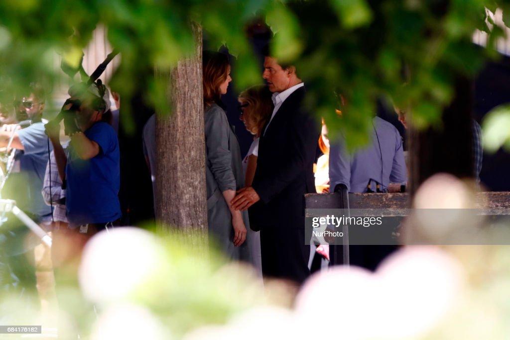 Tom Cruise and Rebecca...