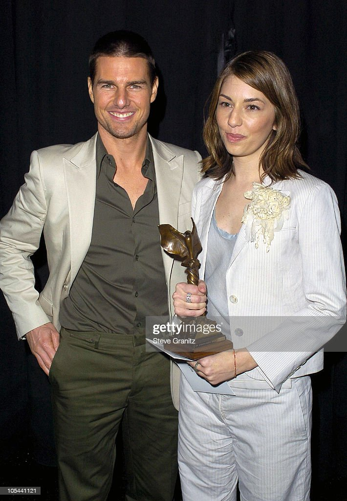 Tom Cruise and Sofia Coppola during The 19th Annual IFP Independent Spirit Awards - Audience and Backstage at Santa Monica Pier in Santa Monica, California, United States.