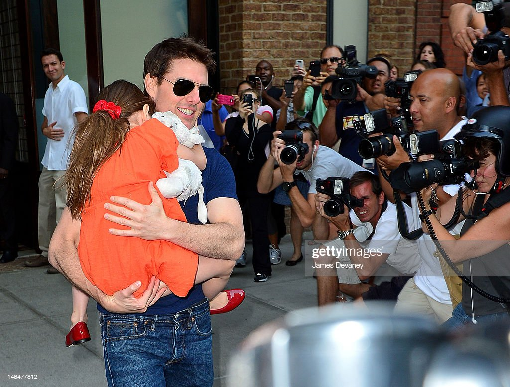 Celebrity Sightings In New York City - July 17, 2012 : News Photo