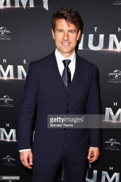 Tom Cruise arrives ahead of The Mummy Australian Premiere at State Theatre on May 22 2017 in Sydney Australia