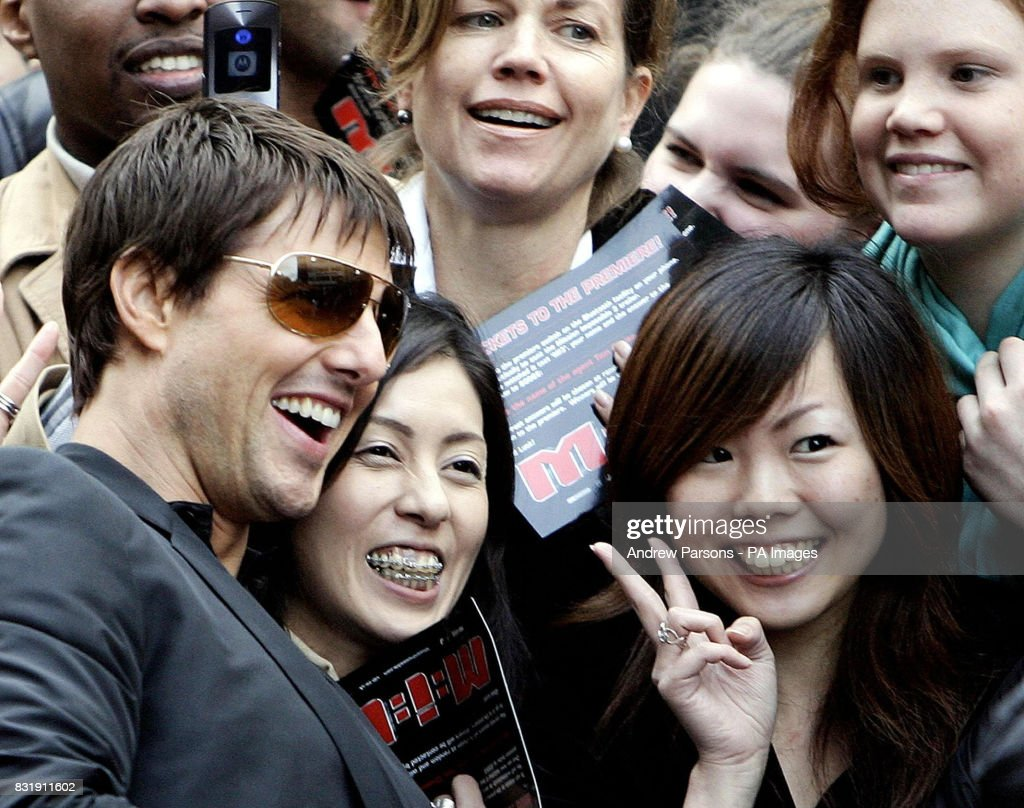 Tom Cruise arrives at the UK Premiere of Mission Impossible 3, News