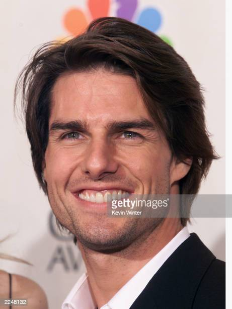 Tom Cruise at the 58th Annual Golden Globe Awards at the Beverly Hilton in Los Angeles California Sunday January 21 2001 Photo by Kevin Winter/Getty...