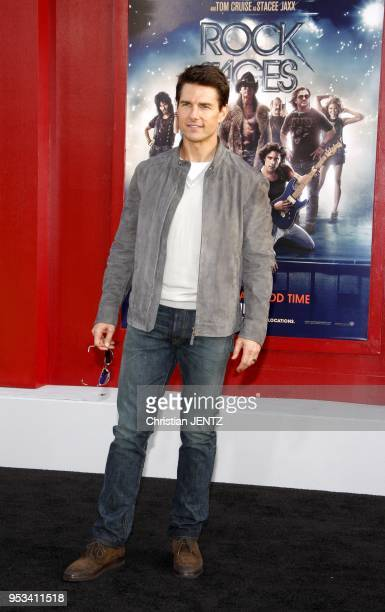 Tom Cruise at the Los Angeles premiere of Rock of Ages held at the Grauman's Chinese Theater on June 8 Los Angeles Usa