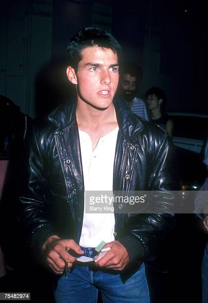 Tom Cruise at the On The Rox Club in West Hollywood California