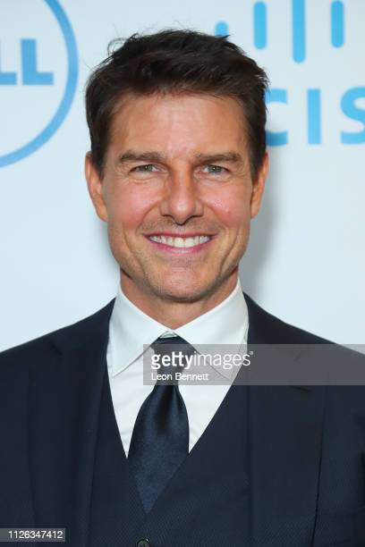 Tom Cruise attends 10th Annual Lumiere Awards at Warner Bros Studios on January 30 2019 in Burbank California