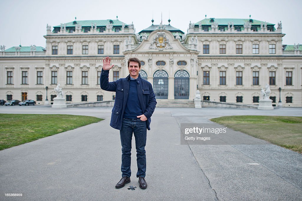Tom Cruise attends a photo call for the film 'Oblivion' at Belvedere Palace on April 2, 2013 in Vienna, Austria.