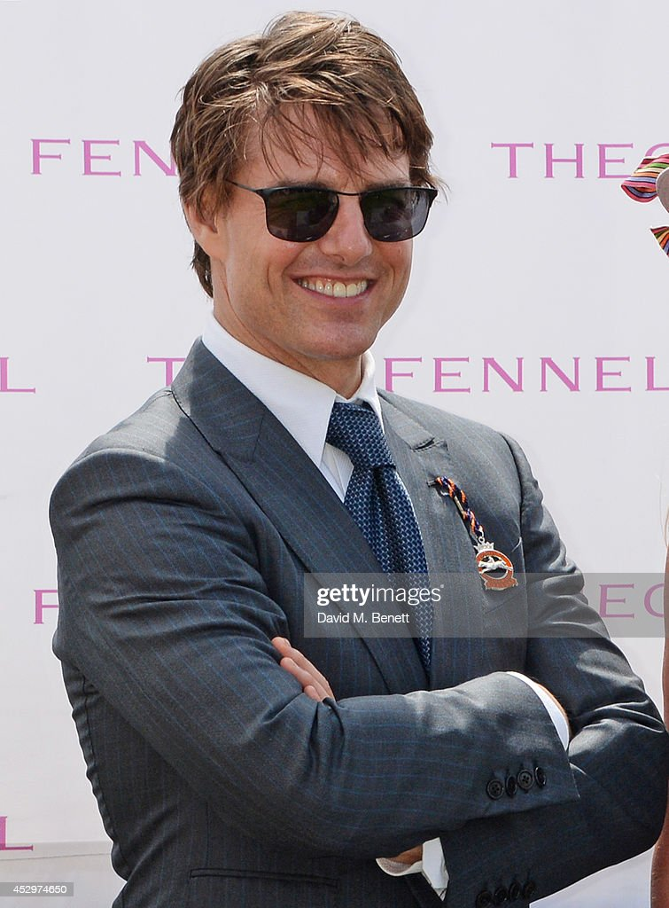 Tom Cruise attends Glorious Goodwood Ladies Day at Goodwood on July 31, 2014 in Chichester, England.
