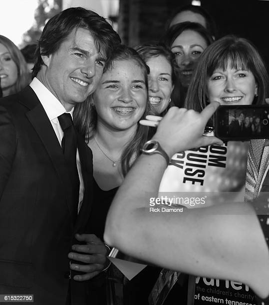 Tom Cruise attends Jack Reacher Never Go Back Variety The Children's Charity Of Eastern Tennessee Benefit Screeningon October 17 2016 in Knoxville...