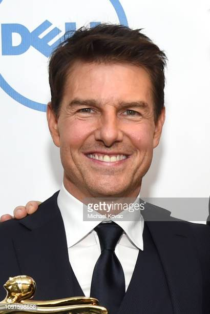 Tom Cruise attends the 10th Annual Lumiere Awards at Warner Bros Studios on January 30 2019 in Burbank
