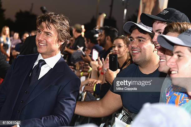 Tom Cruise attends the Jack Reacher Never Go Back Fan Screening at AMC Elmwood Palace 20 on October 16 2016 in Harahan Louisiana