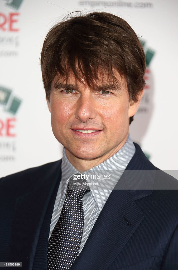 Tom Cruise attends the Jameson Empire Film Awards at Grosvenor House, on March 30, 2014 in London, England.
