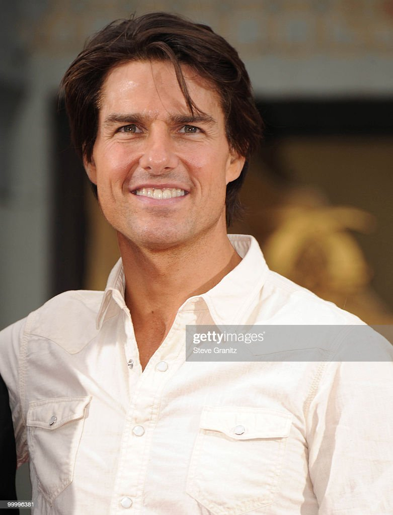 Tom Cruise attends the Jerry Bruckheimer Hand And Footprint Ceremony at Grauman's Chinese Theatre on May 17, 2010 in Hollywood, California.