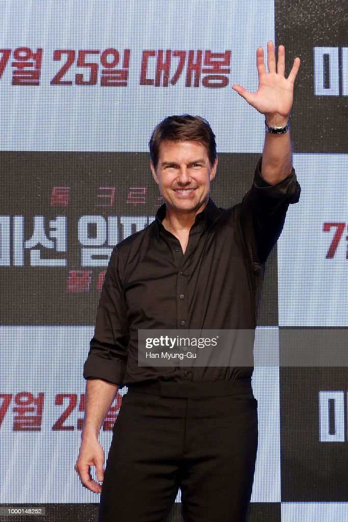 'Mission: Impossible - Fallout' Seoul Press Conference and Photo Call