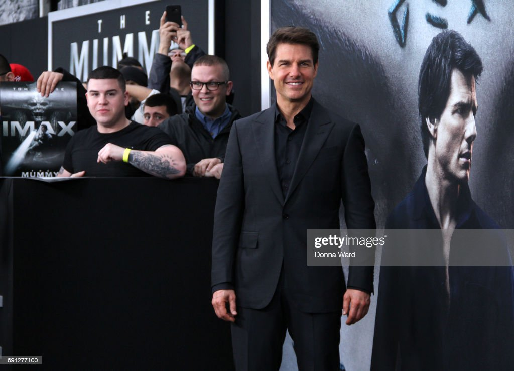 Tom Cruise attends 'The Mummy' Fan Event at AMC Loews Lincoln Square on June 6, 2017 in New York City.