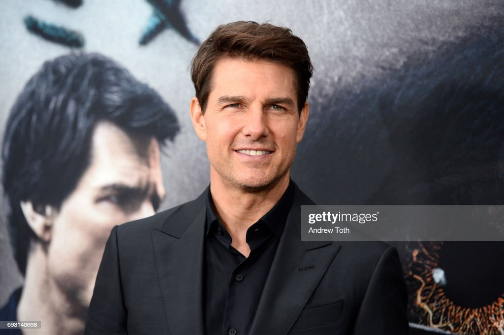 Tom Cruise attends 'The Mummy' New York fan event at AMC Loews Lincoln Square on June 6, 2017 in New York City.