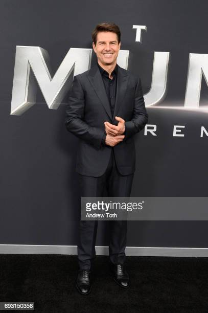 Tom Cruise attends 'The Mummy' New York fan event at AMC Loews Lincoln Square on June 6 2017 in New York City