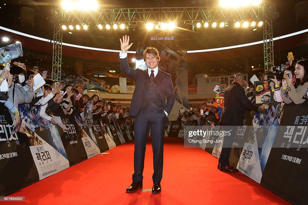 'Jack Reacher: Never Go Back' Seoul Premiere