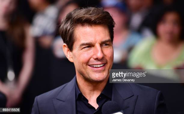 Tom Cruise attends the 'The Mummy' New York Fan Event at AMC Loews Lincoln Square on June 6 2017 in New York City