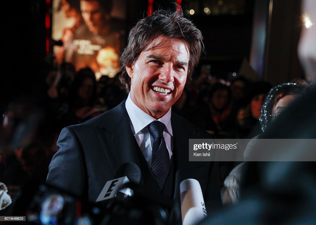 Tom Cruise attends the Tokyo Premiere of the Paramount Pictures' 'Jack Reacher: Never Go Back' on November 9, 2016 at Toho Cinemas Roppongi Hills on November 9, 2016 in Tokyo, Japan.
