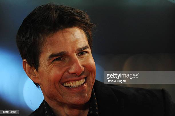 Tom Cruise attends the world premiere of 'Jack Reacher' at The Odeon Leicester Square on December 10 2012 in London England
