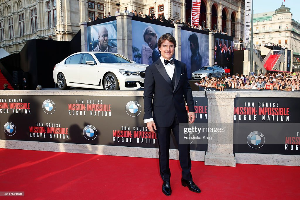 BMW At The 'Mission: Impossible - Rogue Nation' World Premiere : News Photo