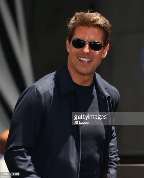 Tom Cruise attends Universal Celebrates 'The Mummy Day' With 75Foot Sarcophagus Takeover at Hollywood And Highland on May 20 2017 in Hollywood...
