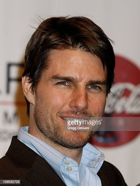 Tom Cruise during 2002 ShoWest Gala Awards Press Room at Paris Hotel in Las Vegas Nevada United States