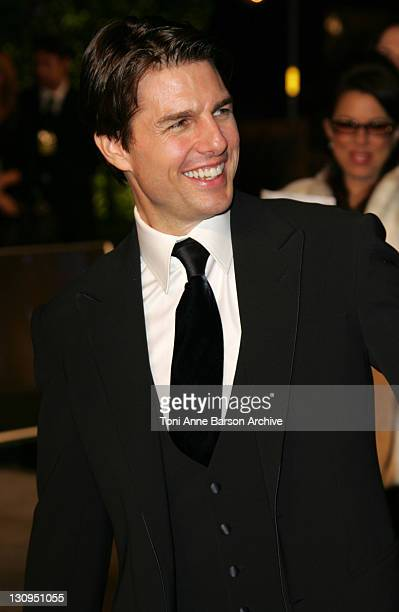Tom Cruise during 2007 Vanity Fair Oscar Party Hosted by Graydon Carter Arrivals at Mortons in West Hollywood California United States