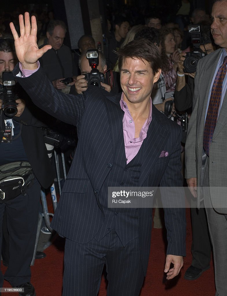 Tom Cruise during 5th Annual Tribeca Film Festival - 'Mission: Impossible III' New York Premiere - Outside Arrivals at Ziegfeld Theater in New York City, New York, United States.
