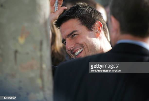 Tom Cruise during Collateral Premiere Paris at UGC Normandy in Paris France