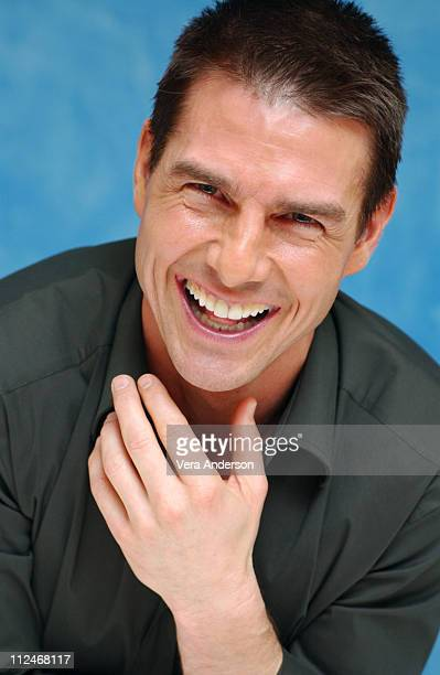 """Tom Cruise during """"Collateral"""" Press Conference at St. Regis Hotel in Century City, California, United States."""