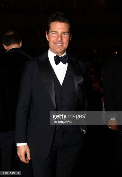 Tom Cruise during The Fashion Awards 2019 held at Royal Albert Hall on December 02 2019 in London England