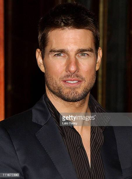 Tom Cruise during 'The Last Samurai' Madrid Premiere Inside Arrivals January 08 2004 at Palacio de la Musica Cinema in Madrid Spain