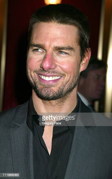 """Tom Cruise during """"The Last Samurai"""" New York Premiere - Inside Arrivals at The Ziegfeld Theater in New York City, New York, United States."""