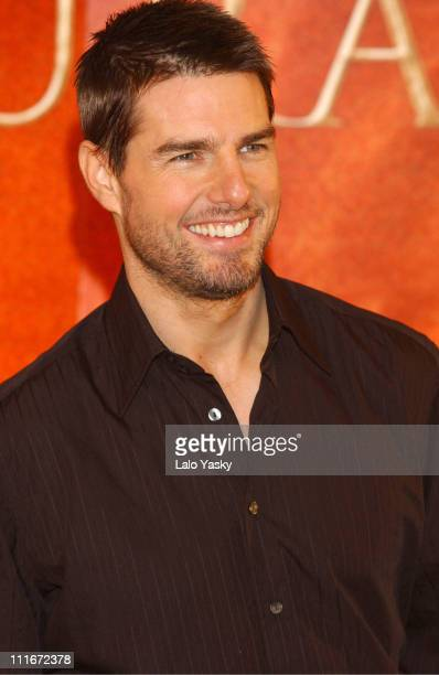 Tom Cruise during 'The Last Samurai' Promotional Photocall Madrid at Villa Magna Hotel in Madrid Spain