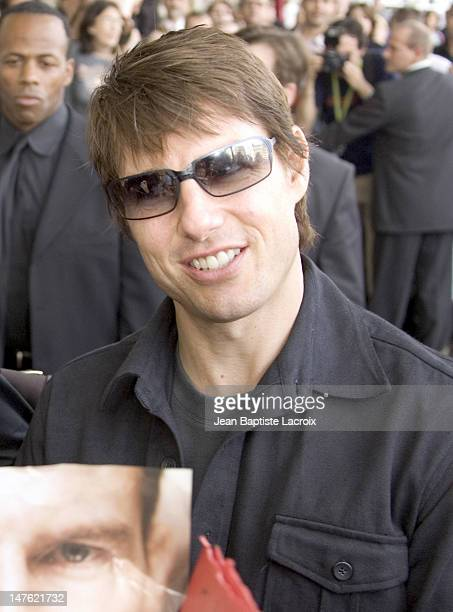 Tom Cruise during Tom Cruise and Katie Holmes Announce Their Engagement in Paris June 17 2005 in Paris France