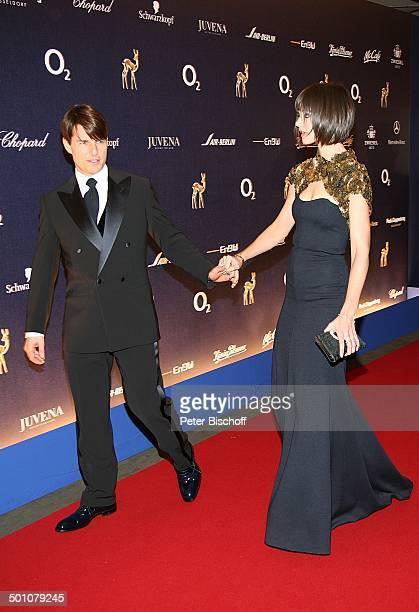 Tom Cruise , Ehefrau Katie Holmes, Bambi-Verleihung, Congress Centrum, Düsseldorf, Nordrhein-Westfalen, Deutschland, Europa, Preisverleihung,...