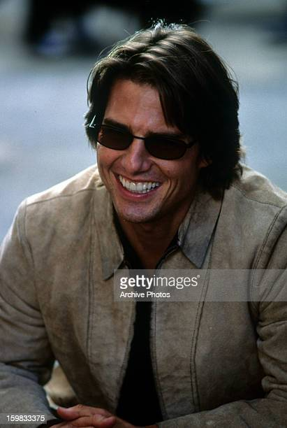 Tom Cruise in a scene from the film 'Mission Impossible II' 2000